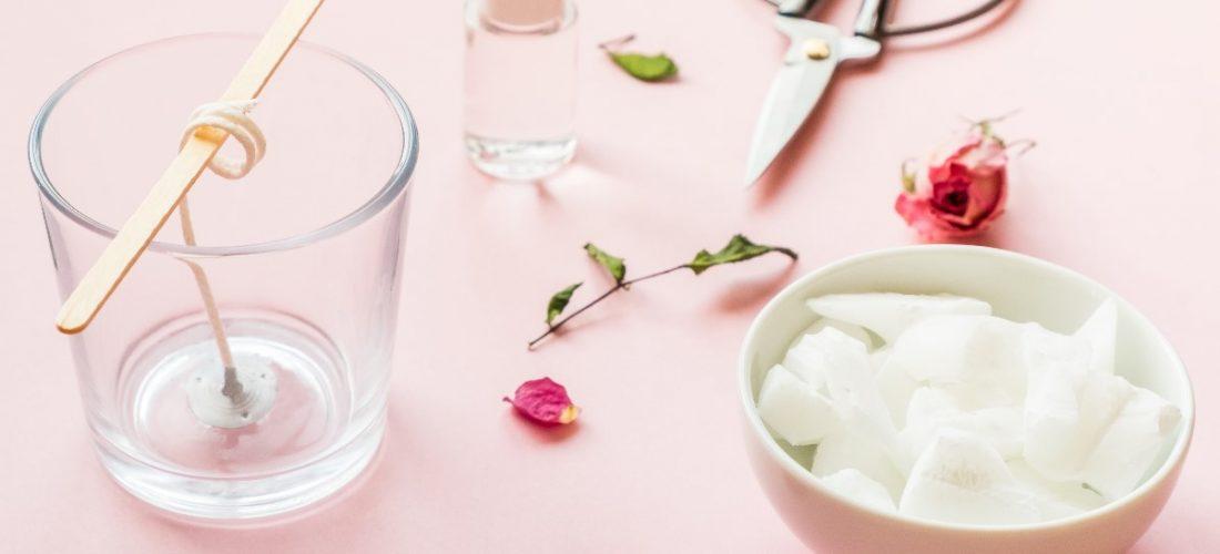 Jak zrobić świeczkę z resztek?