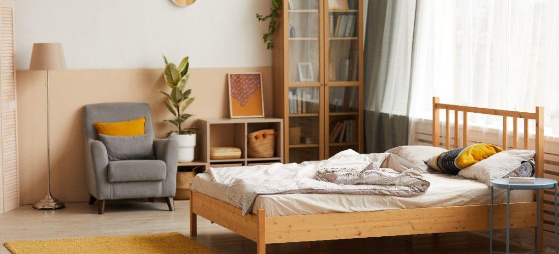Jak urządzić sypialnię małym kosztem?