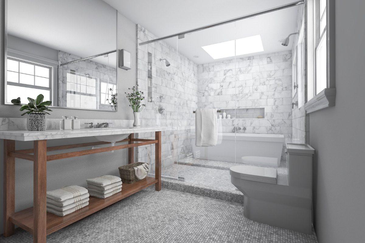 Jak wybrać tani plafon do łazienki?